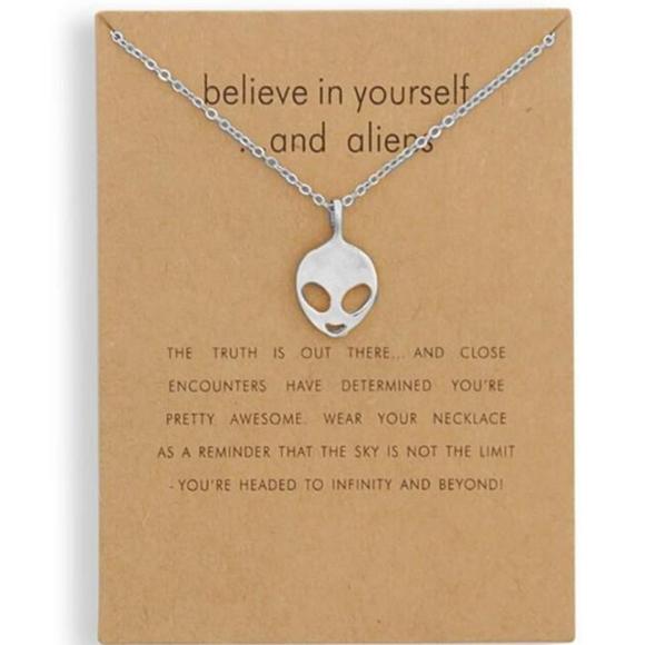 Alien Charm Necklace